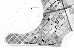 """Jonas Gunerius Larsen (1986) is a Norwegian architect who has a penchant for hand drawing.  Kolonihagen (""""The Allotment Garden"""") is a project investigating an alternative form of settlement based on a grid system.  The drawings represent three different scales of the project: The Masterplan (img 1-5), The Field (img 6-7), and The Shed (img 8-18), each corresponding to a different hand-drawing technique."""