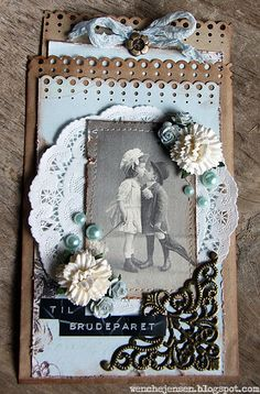 wenches skribleri: Bryllups-posekort