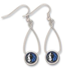 Dallas Mavericks French Loop Earrings