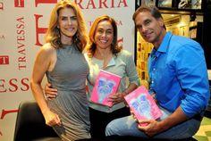 Jetss | Maitê Proença lança seu quinto livro na Travessa do Shopping Leblon cercada de amigos e fãs