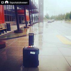 Another case of #FoundLuggage! Yay  #Repost @itspotatokween  #hovernunforpeace is finally home with me  thanks to @tiledit  which located it in the SEA claim area instead of on my connecting flight to #fairbanksalaska.  #alaskaairlines Airlines lost #hovernun but thanks to supervisor Chris at #iflyalaska customer service  my #uav arrived safely in #alaska today. #tiledit  www.thetileapp.com