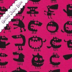 Jersey Monster -  Pink - Vicente von Good Juju Box auf DaWanda.com