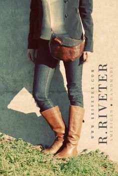 Mrs Patton Saddle Tan Leather custom made by RRiveter on Etsy, $75.00
