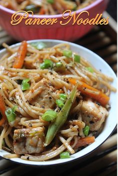 Making noodles can be pretty easy. I do make them when i cook any indo chinese sidedishes like paneer dishes or chicken dishes or anyt...