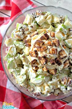 30 Fruit Salads To Blow Your Mind – Cooking Light Snickers Caramel Apple Salad, Snicker Apple Salad, Apple Pie, Apple Salad Recipes, Fruit Recipes, Cooking Recipes, Dessert Recipes, Jello Fruit Salads, Desert Recipes