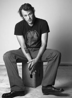 Heath Ledger . If I could ever have one guy it would be a man like health ledger..