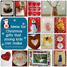 Sun Hats & Wellie Boots: 18 Homemade Christmas Gifts That Young Kids Can Make