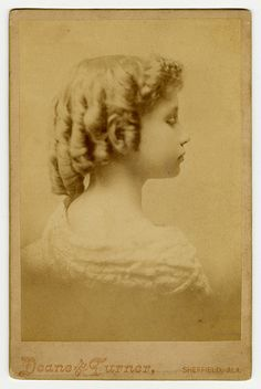 Early Portrait of Helen Keller, Sheffield, Alabama, circa 1888. Visit the Perkins Archives Flicker page: http://www.flickr.com/photos/perkinsarchive/collections/