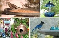 Look what fun and easy things flea market gardeners are doing to celebrate birds.