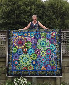 Wendy's quilts and more: la passacaglia has borders now