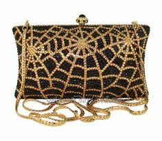 Swarovski Crystal Evening Purses Handbag Bags & Formal Bags by Anthony David