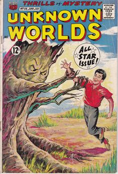 Unknown Worlds 56 June 1967 Issue  ACG Comics  by ViewObscura