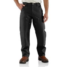 #Carhartt #Workwear: Duck Double Front Logger Pant - find more on http://workstyle.pl/