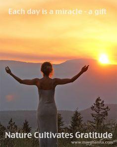 Marghanita Hughes - Nature Cultivates Gratitude