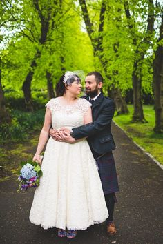 I have a LOT of love for this colourful, DIY celebration held at Pollokshields Burgh Hall in Glasgow. Let me share all. Simple Lace Wedding Dress, Diy Wedding Dress, Beach Wedding Favors, Destination Wedding, Ivory Wedding, Wedding Ceremony, Wedding Rings, Quirky Wedding, Unique Weddings