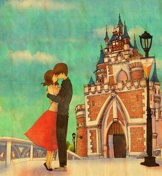 설레이는 놀이공원, 그리고 키스  Heart fluttering playland, and the kiss