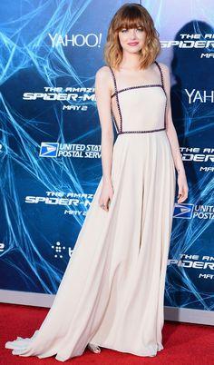 Emma Stone red carpet celebrity style