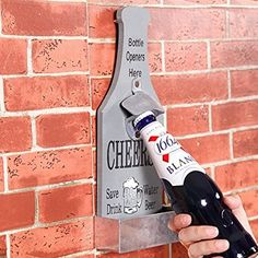 Amazon.com: Creative Retro Beer Shape Wall Mounted Bottle Opener With Cap…