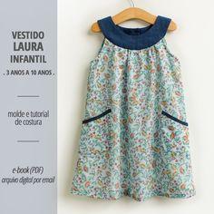 190 Ideias De Vestido De Criança Moldes Em 2021 Vestidos Infantis Roupas De Crianças Roupas Infantil