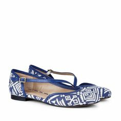 Flats for Women | Women's Peep Toe Flats in Genuine Mixed Materials | Sole Society