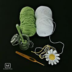 Crochet: He loves me or He loves me not.. ❥ 4U hilariafina  http://www.pinterest.com/hilariafina/