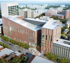 University at Buffalo School of Medicine and Biomedical Sciences | Buffalo, New York, USA | The University at Buffalo's state-of-the-art medical school and integrated transit station will anchor a vibrant mixed-use district in downtown Buffalo.