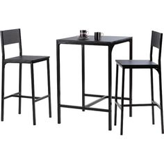 Found it at Wayfair.co.uk - Hall 3 Piece Bar Table Set  sc 1 st  Pinterest : 3 piece bar table set - pezcame.com