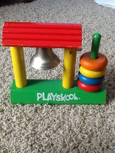 Playskool stacking toy....Lisa's