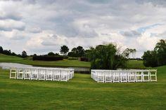 The set up- before flowers  Windermere Golf Club Cumming, GA