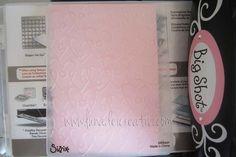 LUNAdei Creativi | Fustelle Textured Impressions: Cosa Sono | http://lunadeicreativi.com