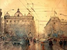 Dusan Djukaric, One of the Most Authentic Serbian Watercolor Painters