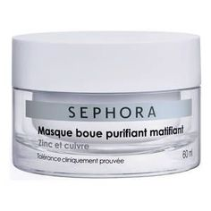 Buy Purifying & Mattifying Mud Mask from Sephora Collection here. What it is: A mud mask featuring zinc and copper to cleanse and purify the skin—ak. Beauty Skin, Beauty Makeup, Multi Masking, Spa Day At Home, Peeling, Kiss Makeup, Tips Belleza, Sephora Makeup, Face And Body