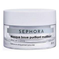 Masque boue purifiant matifiant - Zinc et cuivre de Sephora sur Sephora.fr