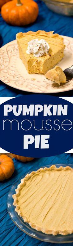 ... pumpkin mousse pie pumpkin mousse pie light and creamy pumpkin pie