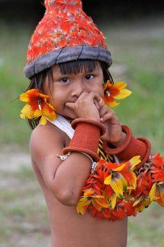 Beleza indígena brasileira  lien, nature, faune, flore, harmonie, paix, vie, couleurs, écoute, respect