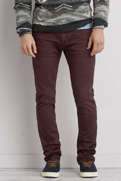 Skinny Core Flex Jean by AEO | New Core Flex denim looks and feels like your favorite AEO denim, with just enough stretch for increased comfort