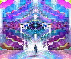 Threyda | Art & Goods | Transfinite Induction | Justin TOtemical  #vibes #indigo #moonchild#consciousness #kundalini #spaceporn #synchronicity #alchemy #highervibes #chakra #goddess #higherself #moonphases #om #divine #thirdeye #threyda #peace #awakening #crystals #love #art #hippie #universe #cosmos #zen #psychedelic #goodvibes #magic #denver #colorado #trippy #painting #sculpture #digitalart #visionaryart #justintotemical #threyda