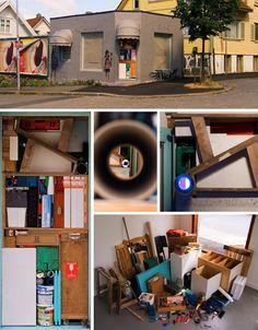 packing door art