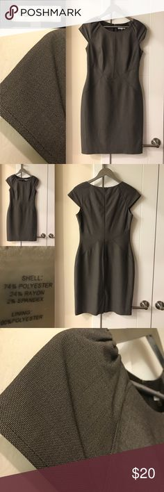 Calvin Klein Dress Great Condition, size 4, brownish in color Calvin Klein Dresses