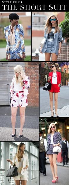 Style File: The Short Suit | theglitterguide.com