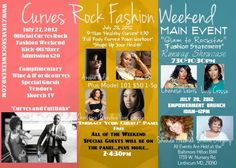 I'm co-hosting Curves Rock Fashion Weekend July 27-29 in Baltimore!