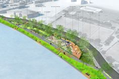 Perreux River Banks by BASE « Landscape Architecture Works   Landezine