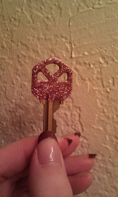 Glitter your keys!