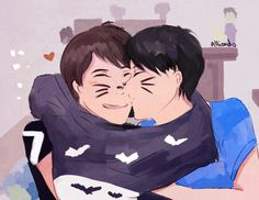 """((Need phil.)) i turn on the camera. """"Hello internet. Today phil and i decided on putting on a large shirt and doing tasks that you sent us.""""i say to the camera. Phil adds. """"Lets call this the conjoined twins challenge."""" """"ok phil"""" i replie. I grab theshirt and start to put it over me and phils head and all of a sudden phil kisses my cheek."""