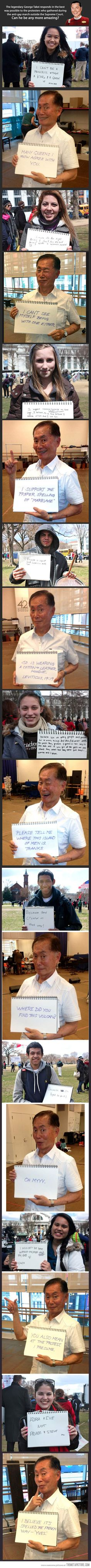 George Takei being awesome