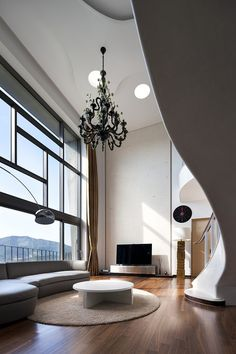 The living room is the heart of every house or apartment. We have 70 inspiring living room design ideas for beautiful modern and fresh interiors. Living Room Interior, Home Interior Design, Interior Architecture, Interior And Exterior, Interior Decorating, Living Room Designs, Living Spaces, Living Area, Living Rooms