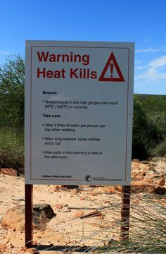 Outback Australia / Don't say you weren't warned!