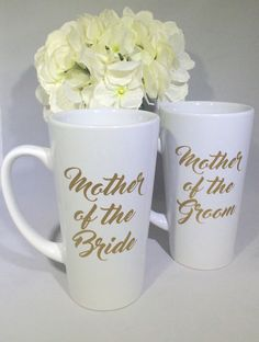 Mother of the Bride Gift  coffee mug  Mother by OhSoSweetandSassy