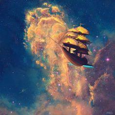 Treasure Planet by on DeviantArt Disney And More, Disney Love, Disney Magic, Disney Art, Disney Dream, Planet Drawing, Jim Hawkins, Arte Nerd, Planets Wallpaper