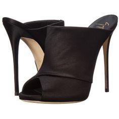 sale Giuseppe Zanotti - I50067 (Raso Nero) Women's Toe Open Shoes
